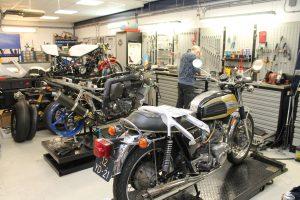 Werkplaats motor onderhoud Zaandam
